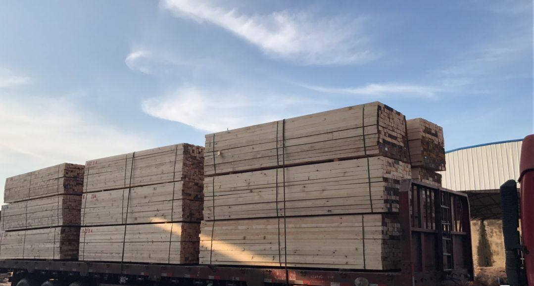 铜陵松木工地木方