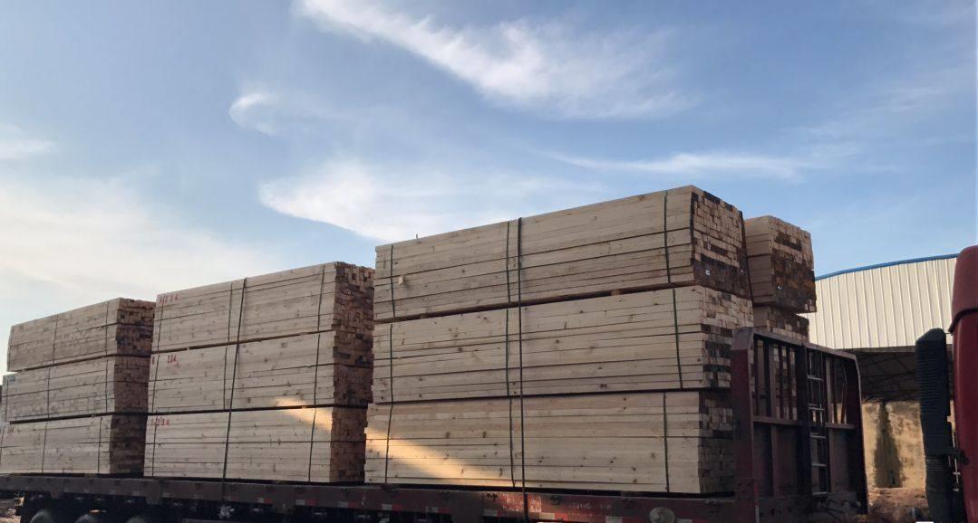 台州辐射松工地木方