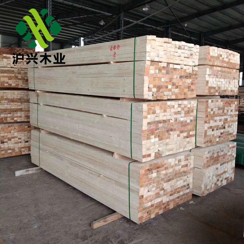 沪兴木业辐射松建筑方木价格建筑木方实木