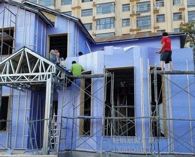 贵州轻钢别墅每平米价格多种类型样式可以选