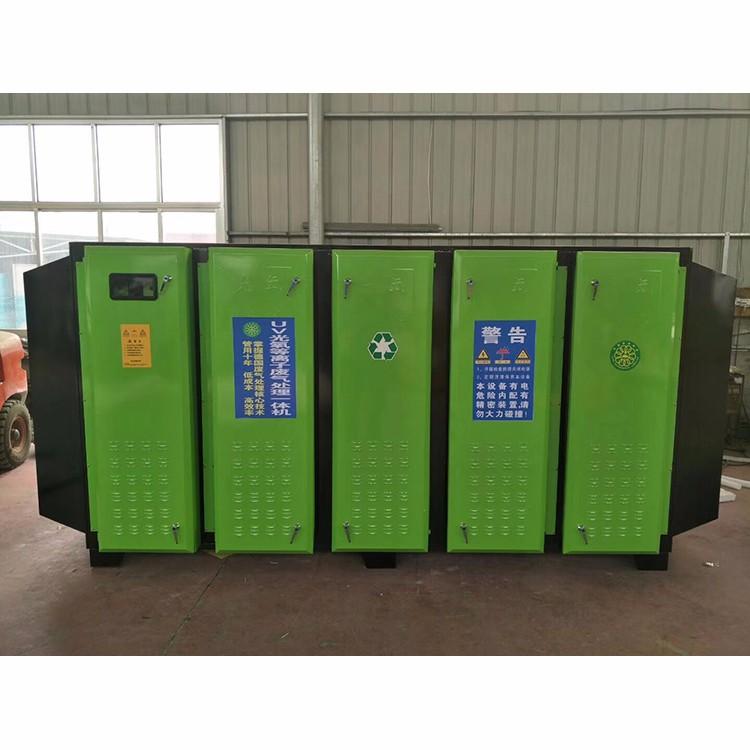 河南新乡烤漆房废气处理一体设备、光氧催化一体机结构