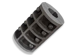 山东海鹏制作的jq型夹壳联轴器结构简单