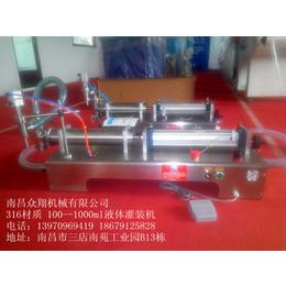 江西南昌自动灌装机液体灌装设备1000毫升自动灌装机