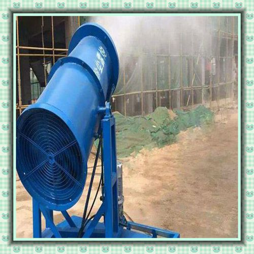 龙海堆煤场雾炮机