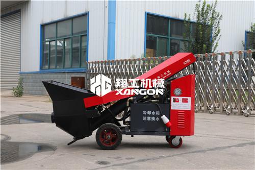 细石混凝土输送泵液压混凝土浇筑泵价格