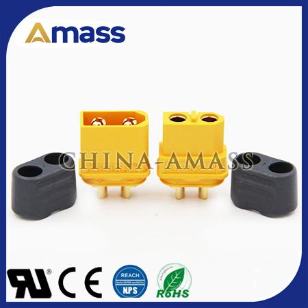 艾迈斯研发生产大电流锂电车换电插头xt60h齐全