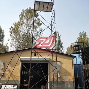 折叠绝缘梯车高度62米折叠式铝合金梯车53米厂家出售