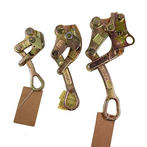 进口多功能卡线器、多功能夹头手动多功能紧线夹具、拉钢绞线卡头