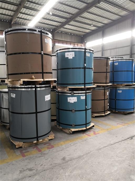 南京宝钢彩钢卷一级代理商生产基地直接发货
