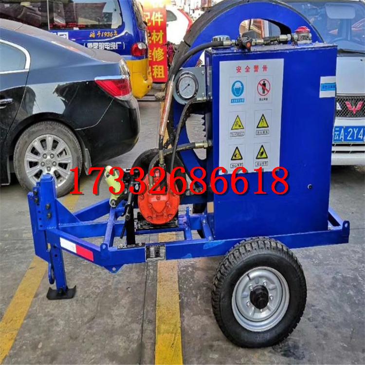 sa-yzm75075t液壓小張單輪雙輪磨芯式張力機