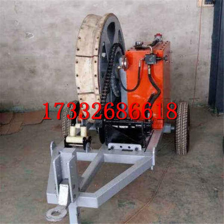 廠家直銷單輪075t磨芯式液壓制動張力機可定做
