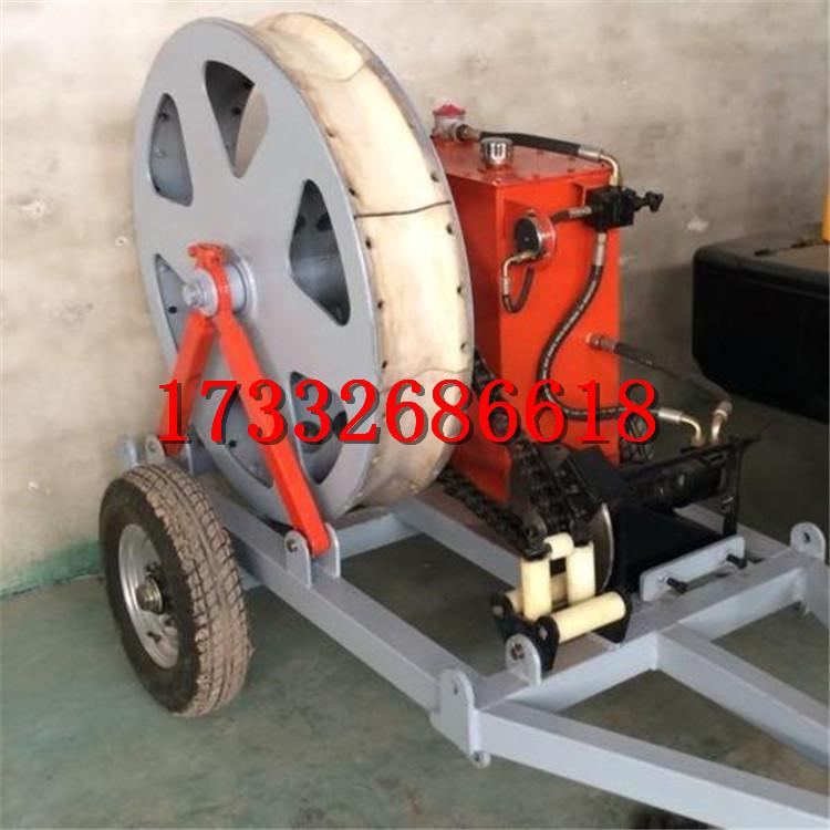 單輪磨芯式張力機小型雙輪張力機機械電力架線張力機