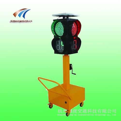 多功能移動紅綠燈led移動紅綠燈太陽能紅綠燈廠家