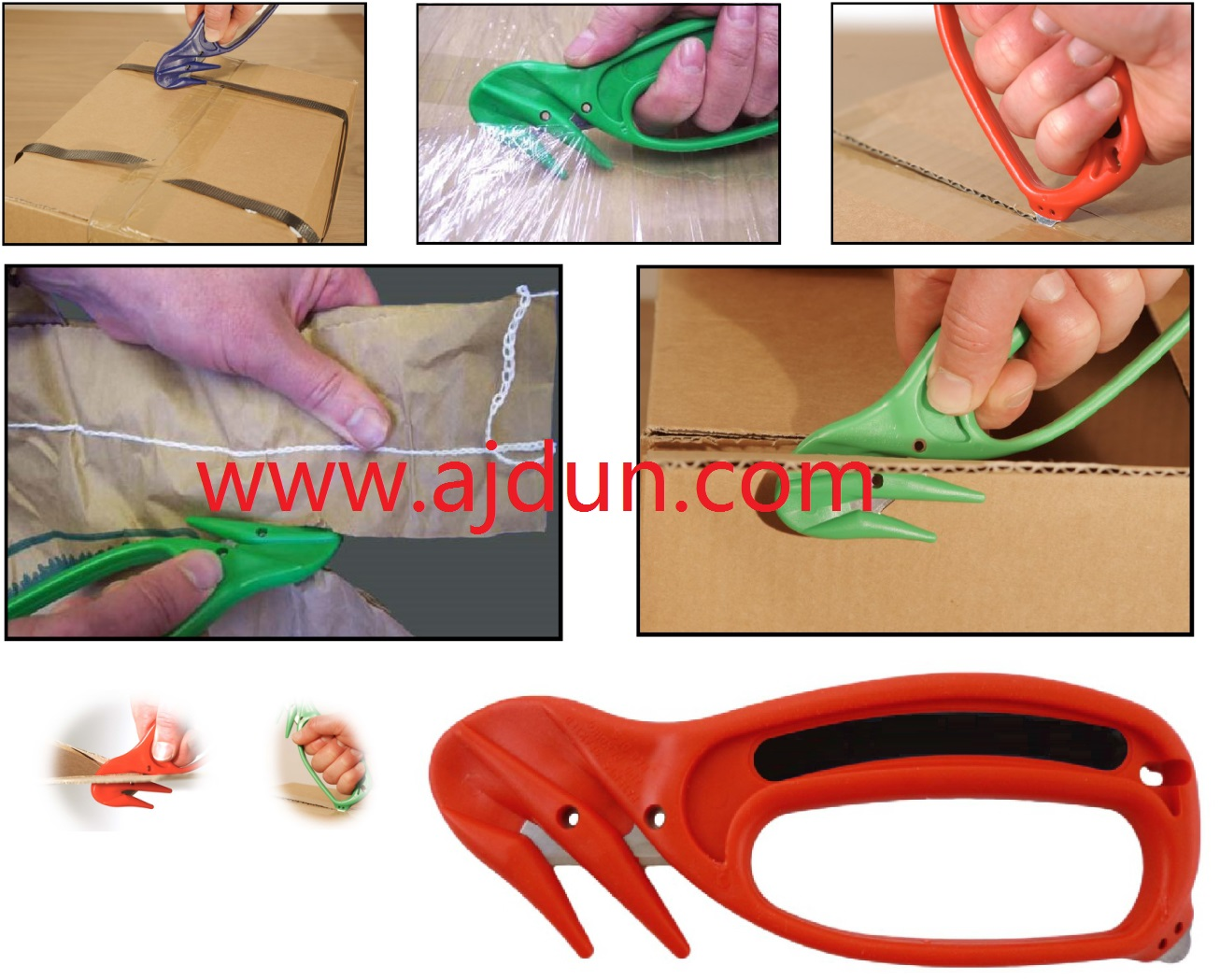 英国fishpenguin900重型双鹰嘴安全刀安全割刀安全开箱刀