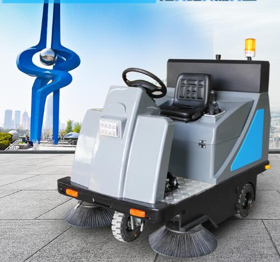 工业厂区水泥道路清扫驾驶式扫地车dj1400