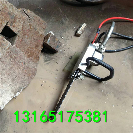 长沙35cm管道切割液压链锯、可快速切割切割岩石、混凝土