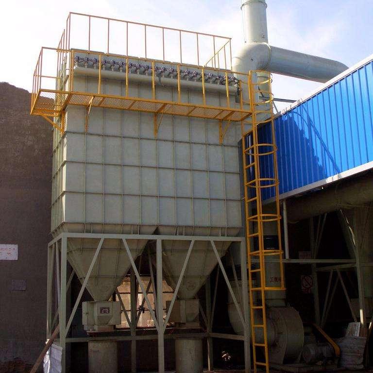200袋脈沖布袋除塵器設計安裝及現貨供應