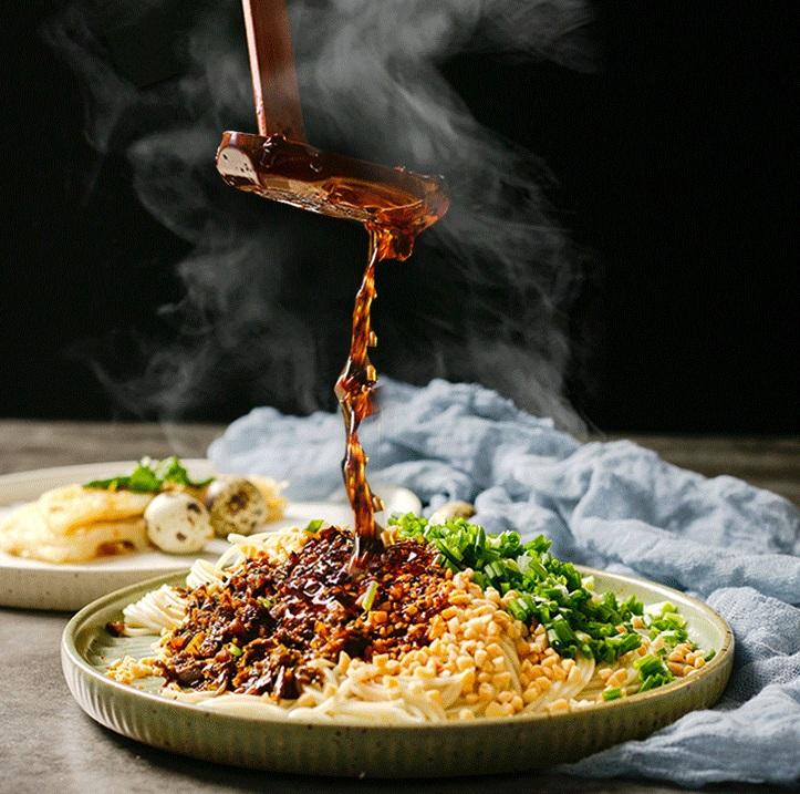 牡丹江藤椒雞肉面調料來料加工
