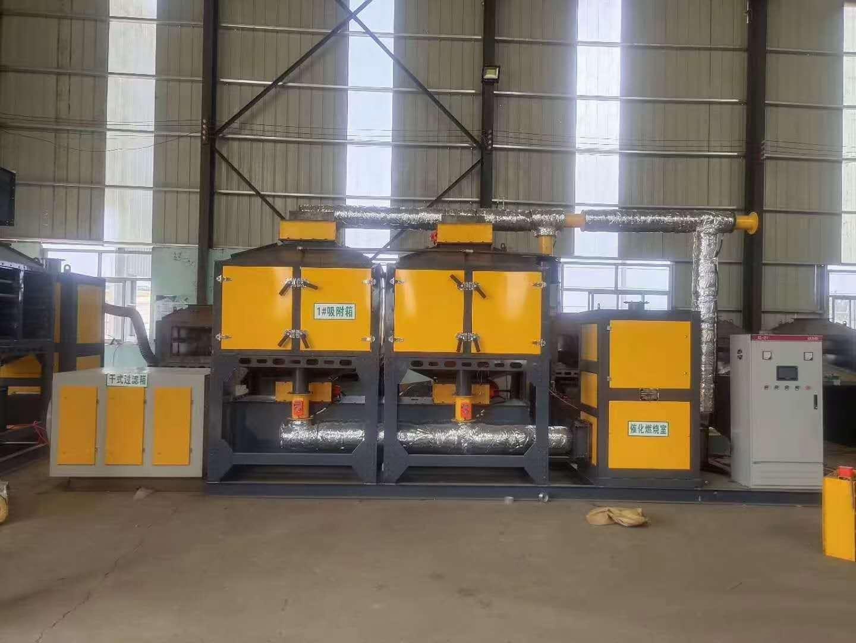山西兩萬風量催化燃燒設備特點及廠家價格