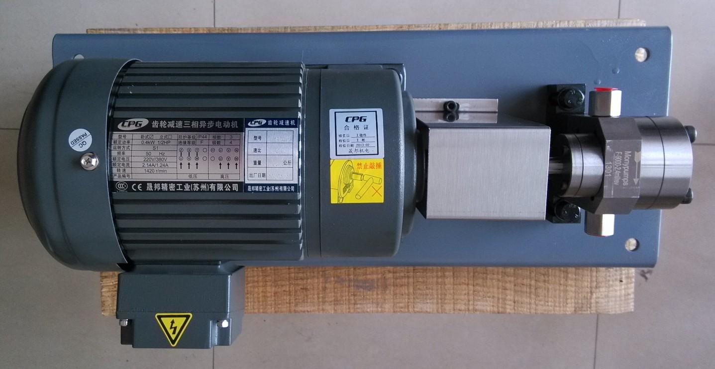 透析膜中空纖維膜用齒輪計量泵