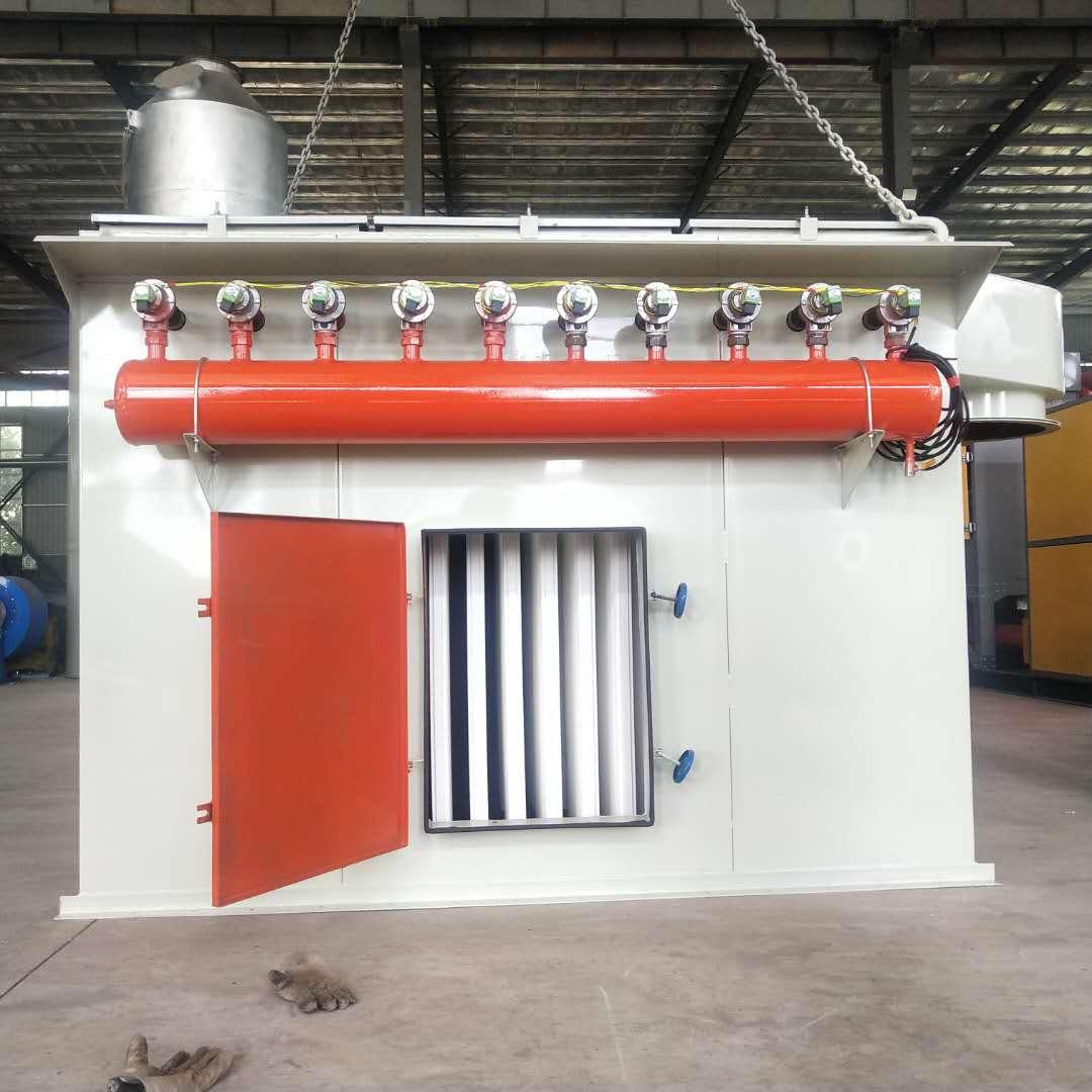兩萬風量塑燒板除塵器應用范圍及生產廠家