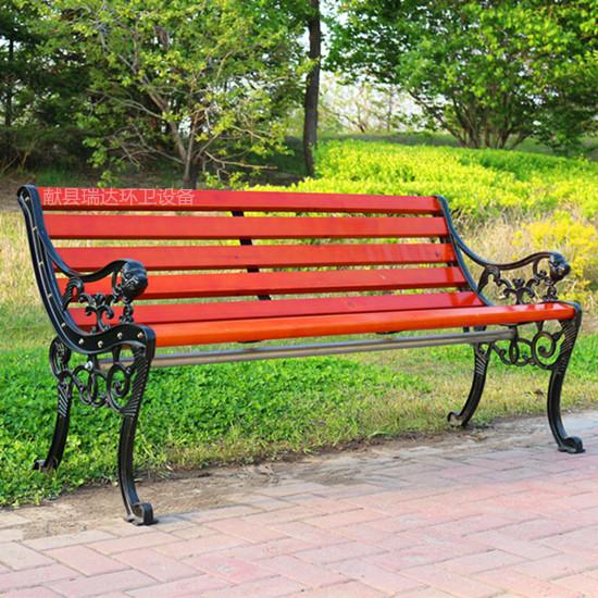 瑞达户外广场椅 木质虎头座椅 现货供应