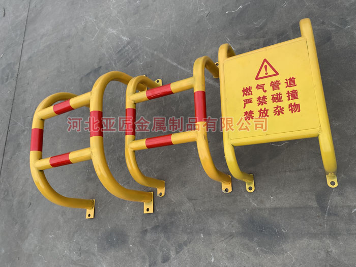 燃氣管道防撞欄、管道防護欄、小區防撞護欄廠家