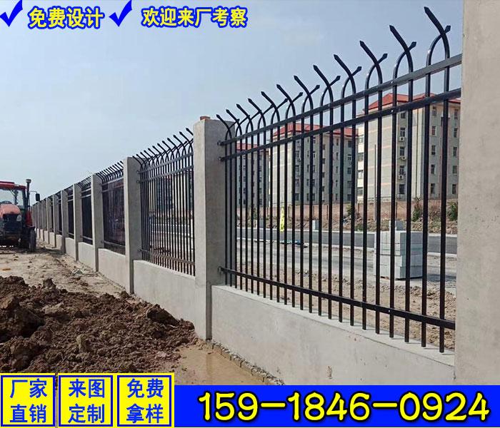 南沙區鋁合金欄桿 包工包料廠家直銷 物流園區圍欄款式