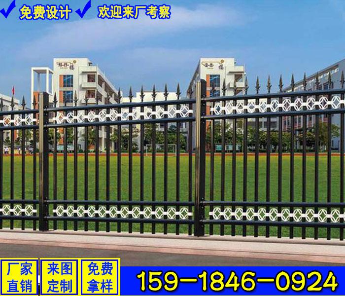 鍍鋅鋼管欄桿圖集 交通護欄價格 河源鋅鋼柵欄護欄