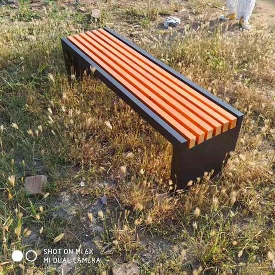 公园长凳 实木休闲平凳 现货供应