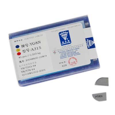 株洲硬质合金精磨铣刀片yg6yg831305113130511a三角刀粒