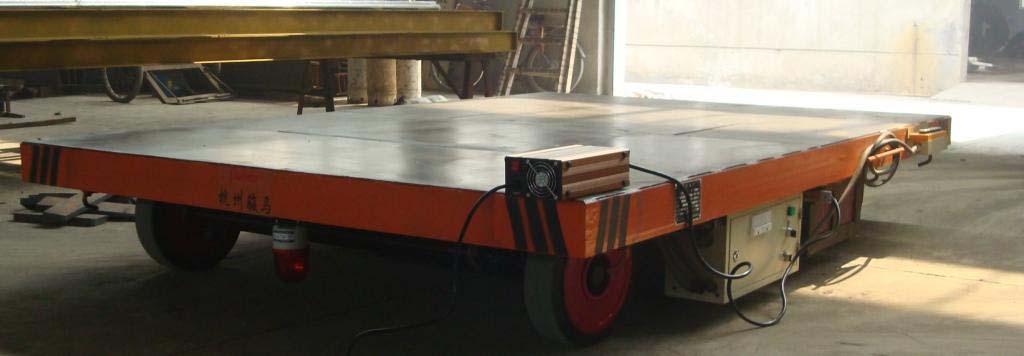 温州长期供应无轨平车低压轨道电动平车无轨地平车厂家