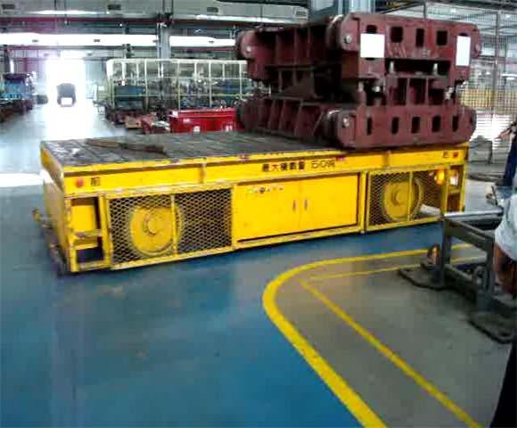 杭州agv平车蓄电池电动平车agv搬运地平车市场价格