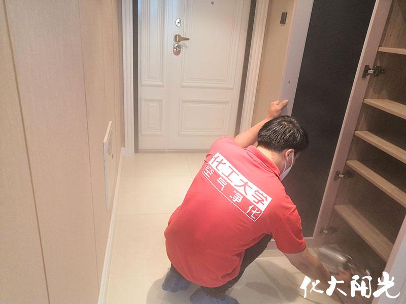 新房裝修除甲醛化大陽光先治理后收費15年質保