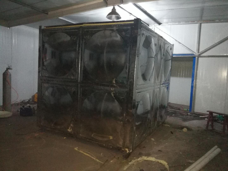 山西運城不銹鋼生活水箱