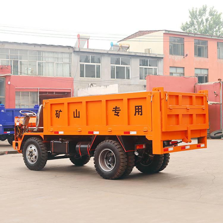 28马力小巷道载重6吨矿山四轮车、小四
