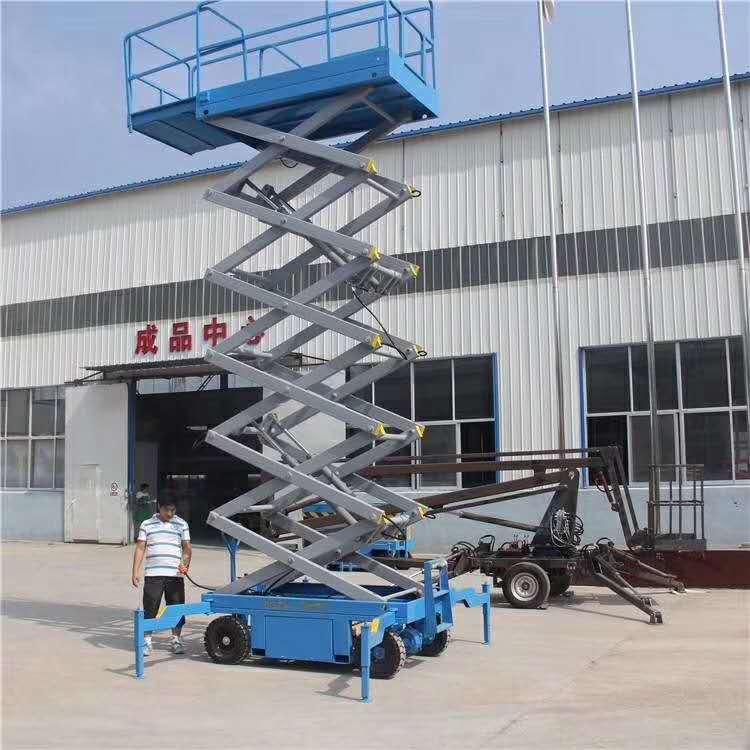 安徽蚌埠移动式升降机、升降平台、升降平台生产定制厂家