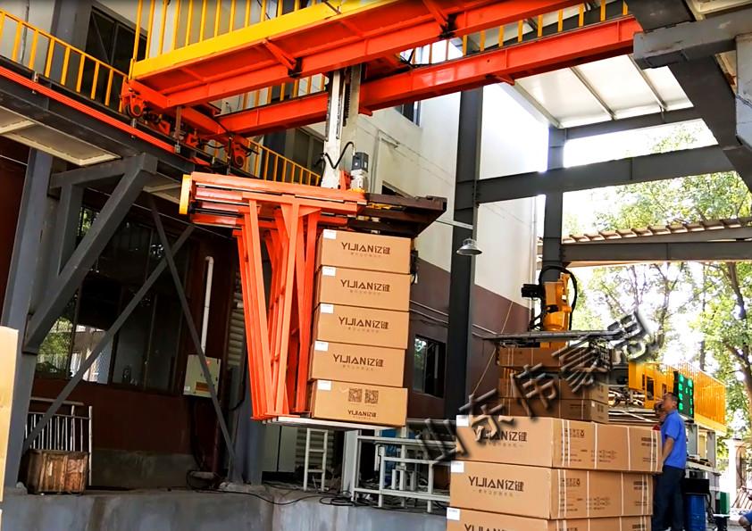 水泥全自动装车机水泥厂自动装车机械手价格