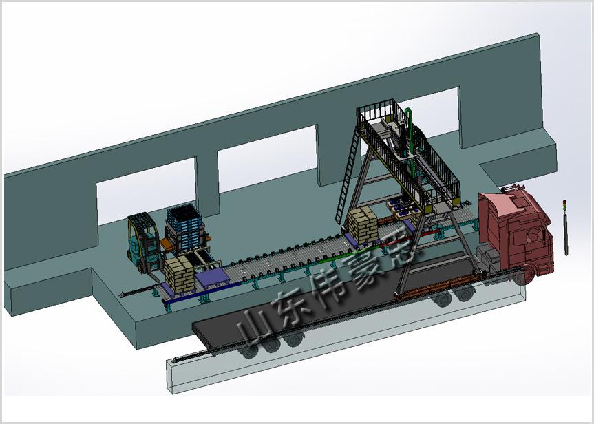 肥料自动装车机器人钾肥装车机械手解决方案