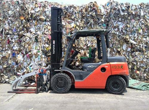 广东诺克供应废料搬运器废料夹废料铲废料机废纸搬运器废纸夹