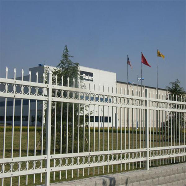 黄埔外墙铁栏杆医院围墙护栏港口通透围栏定制