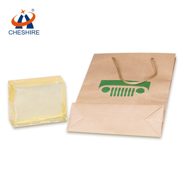 祺星热熔胶手提纸袋胶剥离力强纸袋粘合用
