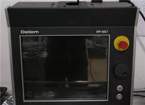 折彎機delem da66t系統開機死機維修 觸摸顯示屏維修