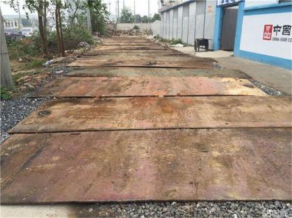 珠海善诚达租赁铺路钢板钢地板客户