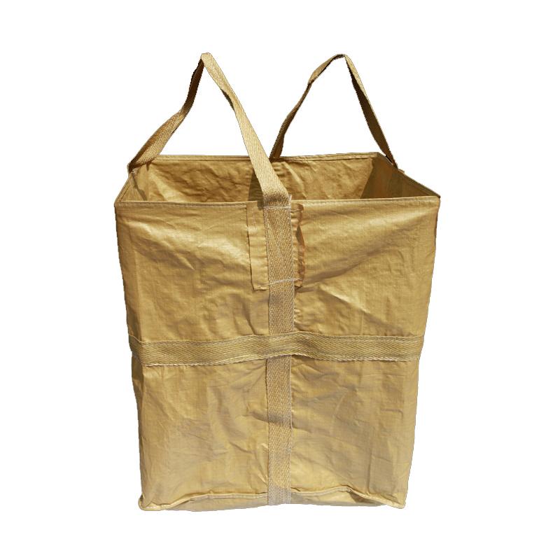定制全新噸袋一體袋 工業鹽噸包編織袋 化肥集裝袋1噸單吊環噸包