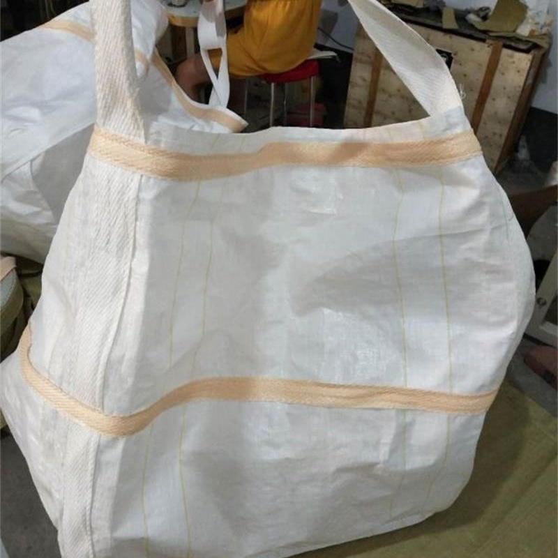 90*90*110四吊環噸袋噸包集裝袋加厚耐磨編織袋橋梁預壓加工定做