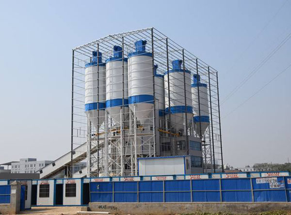 温州钢结构搅拌楼封装、 温州商砼搅拌站钢结构包装公司