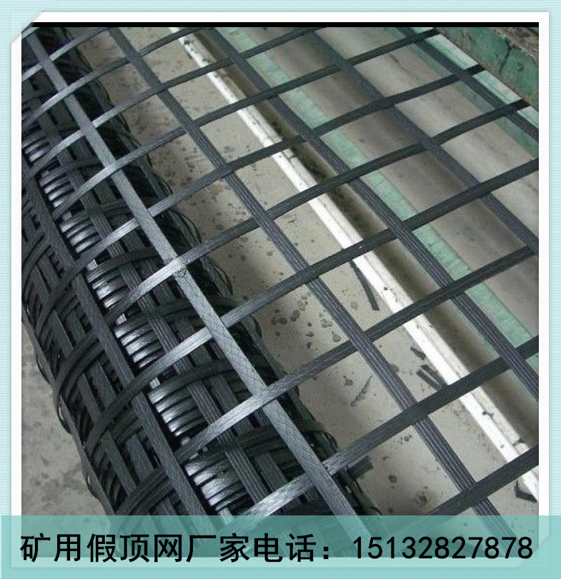 黑色鋼塑復合網 礦用復合假頂網 礦用護幫網廠家報價