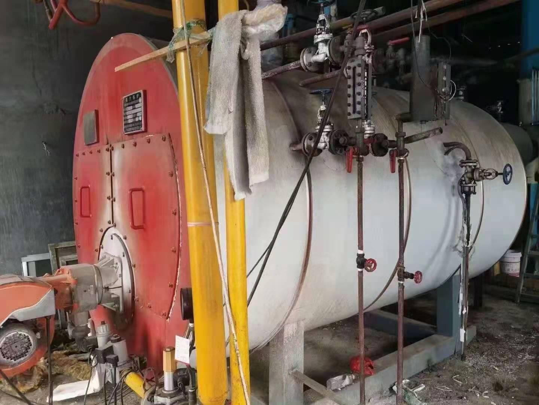 出售17年2噸燃氣蒸汽鍋爐 二手燃氣鍋爐 2噸燃氣鍋爐