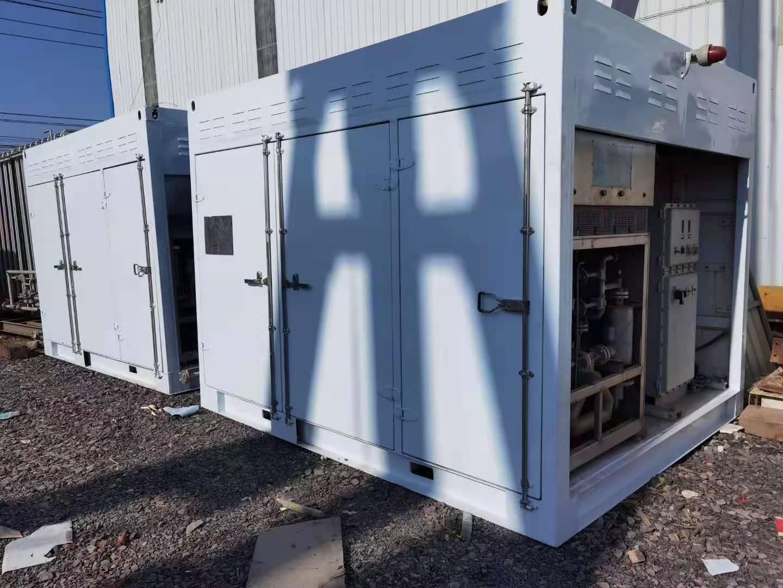 出售兩臺富瑞特裝12年產整體加氣撬 lng加氣站設備